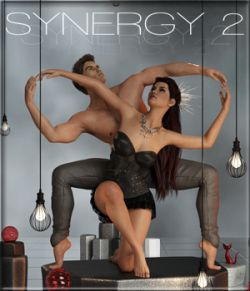 Synergy 2 - Poses for G3F-G8F
