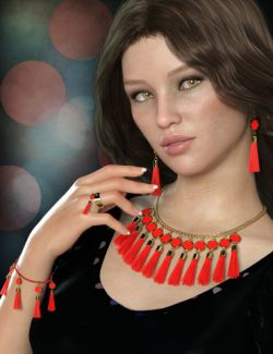 Tassel Jewelry Mega Pack for Genesis 8 Female(s)