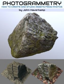 Photogrammetry : Creating Daz Studio Assets from Photos