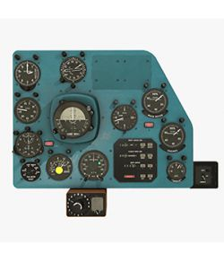 Mi-8MT Mi-17MT Right Panels Board Russian- Extended License
