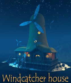 Windcatcher house