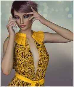 Flirt for dForce - Jasmine Outfit