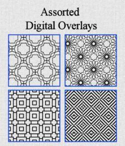 Assorted Digital Overlays