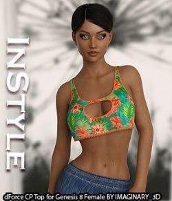 InStyle - dForce CP Top for Genesis 8 Female