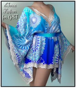 dForce- Short Kaftan for G8F