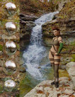 Orestes Iray HDRI Environment- Vigil Creek Falls