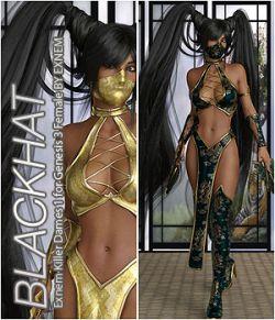 BLACKHAT- Exnem Killer Dames 1 for Genesis 3 Female