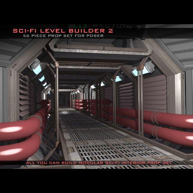 Sci-Fi Level Builder 2