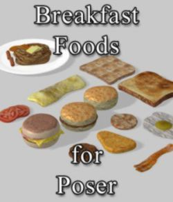 Breakfast Foods (for Poser)