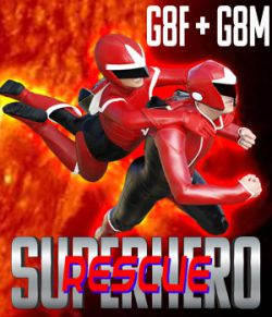 SuperHero Rescue for G8F and G8M Volume 1