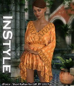 InStyle - dForce - Short Kaftan for G8F