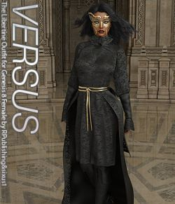 VERSUS - The Libertine Outfit for Genesis 8 Female