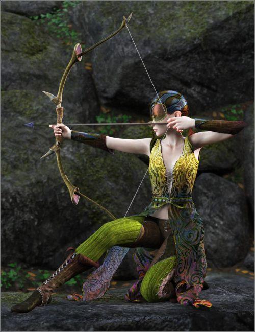 dForce Wing Ranger for Genesis 8 Female(s)