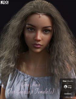 Cora Hair for Genesis 8 Female(s)