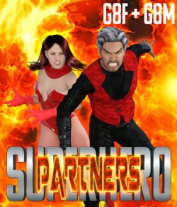 SuperHero Partners for G8F and G8M Volume 1