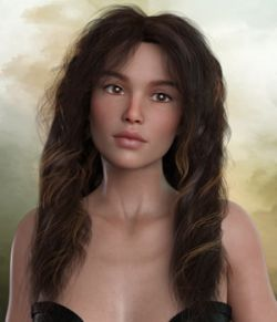 Kayla Hair For G3 G8 Daz