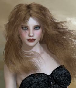Kayla Hair For V4 M4 and La Femme for Poser