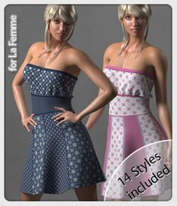 Rosie Dress and 14 Styles for La Femme