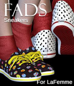 FADS Sneakers for La Femme and Poser 11
