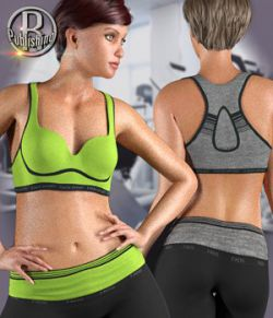 FADS Yoga Pants & Sports Bra for La Femme and Poser 11