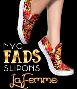 NYC Fads SlipOns for La Femme