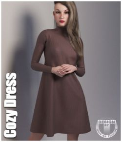 Cozy Dress for La Femme