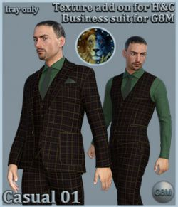 Casual 01 for H and C Business Suit for G8M