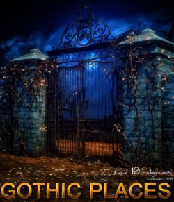 Gothic Places - 2D backgrounds