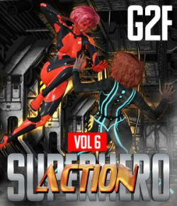 SuperHero Action for G2F Volume 6