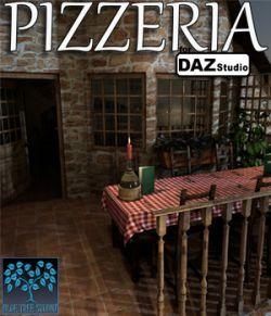 Pizzeria for Daz Studio
