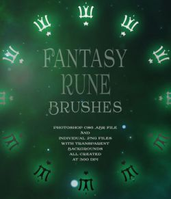 Fantasy Rune Brushes