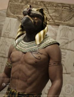 Ancient Horus for Genesis 8 Male