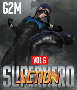 SuperHero Action for G2M Volume 6