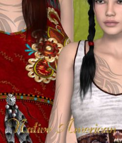 DA-Native American for Anya Dress by karanta