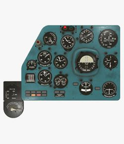 Mi-8MT Mi-17MT Left Panels Board Russian -Extended License