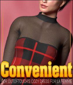 Convenient for Cozy Dress for La Femme