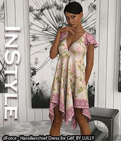 InStyle- dForce- Handkerchief Dress for G8F