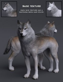 Warg HD for Daz Dog 8