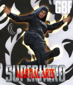 SuperHero Martial Arts for G8F Volume 1
