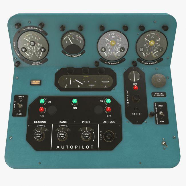 Mi-8MT Mi-17MT Central Panels Board English - Extended License