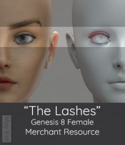 MYKT The Lashes Genesis 8 Female - Merchant Resource