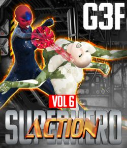 SuperHero Action for G3F Volume 6