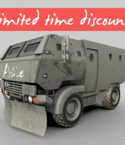 Riot Truck-001 -Extended License