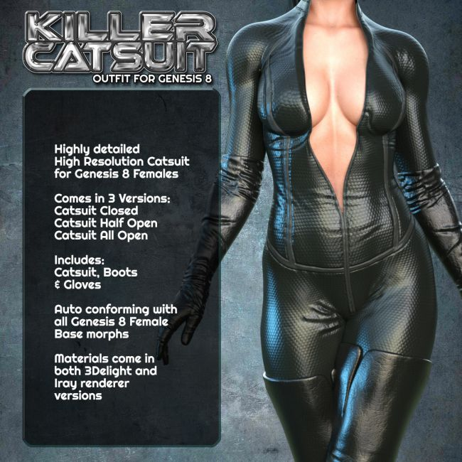 Exnem Killer Catsuit for G8 Female