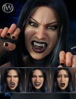 Darkside- Expressions for Genesis 8 Female and Tasha 8