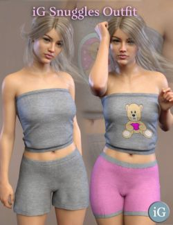 iG Snuggles Outfit For Genesis 8 Female(s)
