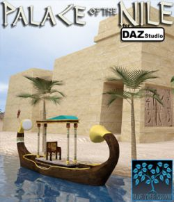 Palace of the Nile for Daz Studio