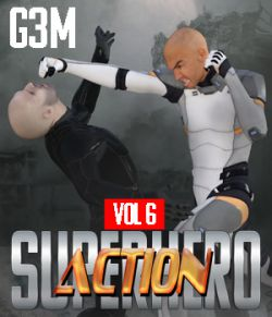 SuperHero Action for G3M Volume 6