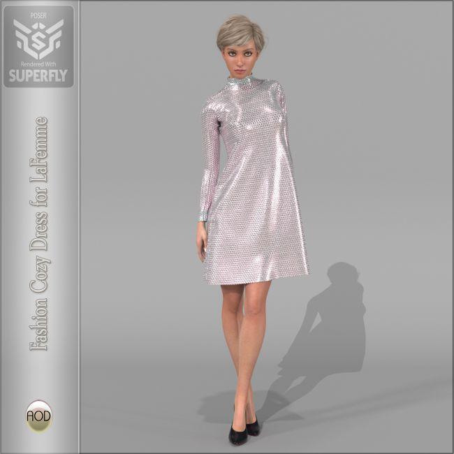 Fashion Cozy Dress La Femme