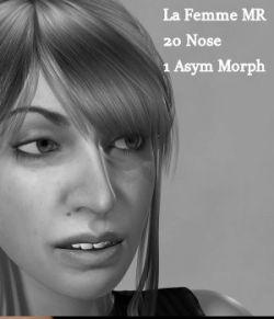 MR Funky Noses for La Femme